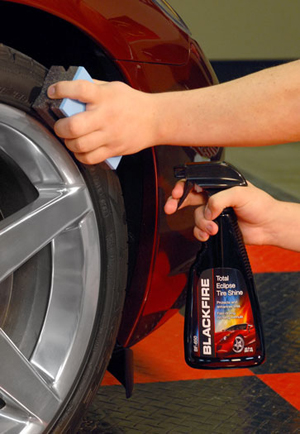 BLACKFIRE Total Eclipse Tire Shine