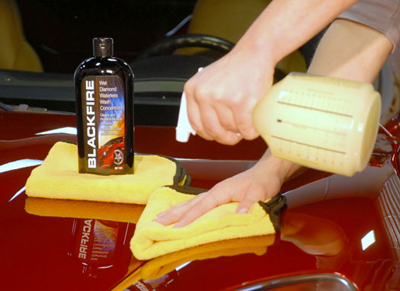 BLACKFIRE Waterless Wash Concentrate saves you money and cleans your vehicle!