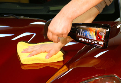 BLACKFIRE Wet Diamond Polymer Spray Sealant