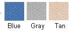 Choose from these three attractive colors.