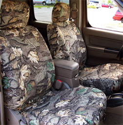 camouflage custom denim seat covers for truck van or suv rugged