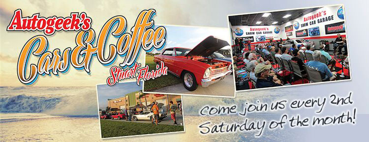 Cars & Coffee is the 2nd Saturday of every month!