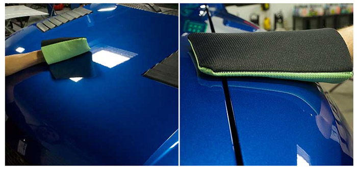Chemical Guys Clay Eraser Mitt is a faster alternative to detailing clay
