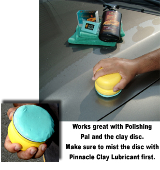 Pinnacle Ultra Poly Clay also works well with the Pinnacle Polishin' Pal.