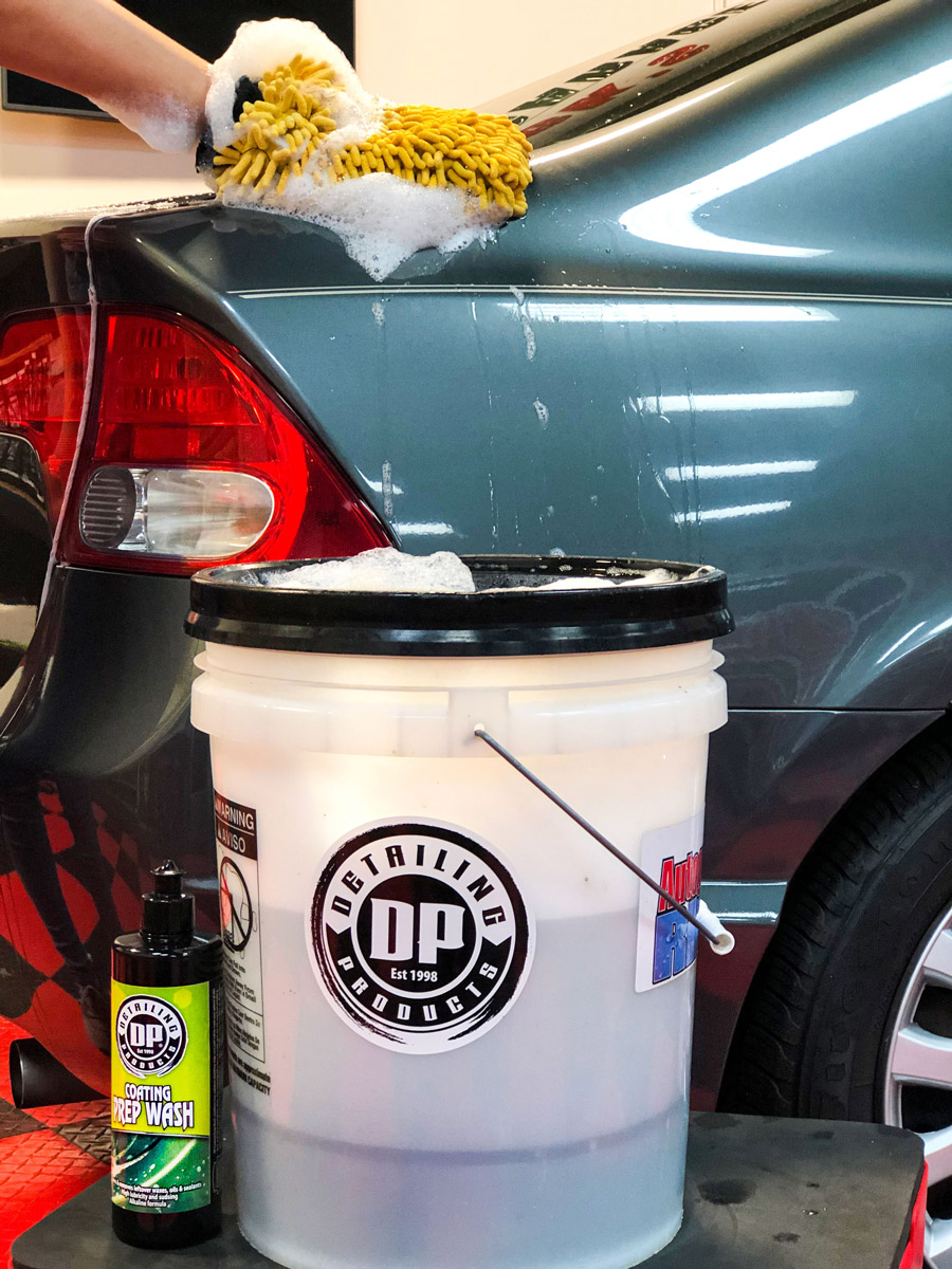 Kill two birds with one stone by prepping while you wash with DP Coating Prep Wash!