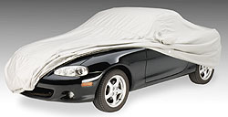The Covercraft Sunbrella car cover offers exceptional UV protection in intense sun climates.
