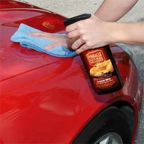 Crystal Mist takes just minutes to apply to your entire vehicle!