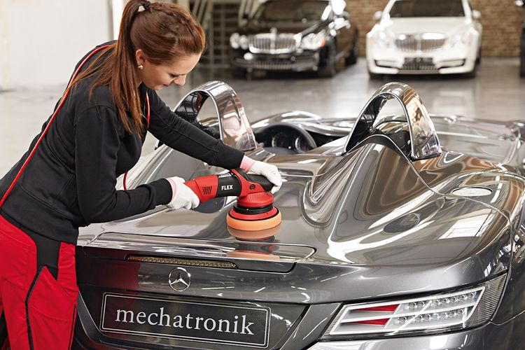Use the Lake Country 6.5 inch Thin Pro Pads for the best paint polishing system.
