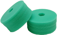 Cyclo Polisher DoublePrecision Green pads