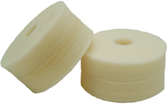 Cyclo Polisher DoublePrecision white Finishing pads