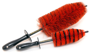 The Daytona Jr. Brush is a smaller version of the full size Daytona Speed Master Wheel Brush.