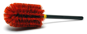 The Speed Master PRO Wheel Brush is rugged and well built!