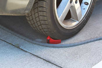 Using specilized rollers, Speed Master Detail Guardz protects against unnecessary friction on your hose!