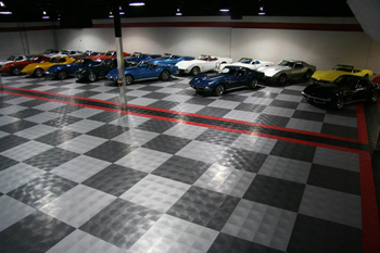 Racedeck Diamond pattern garage flooring
