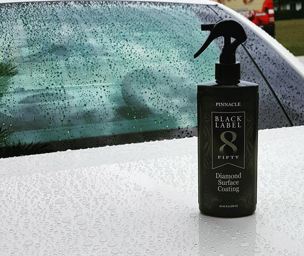 Black Label Diamond Surface Coating creates a fluid, liquid gloss