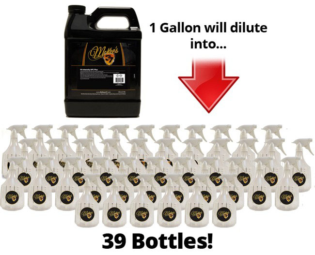 McKee's 37 Hi Intensity APC Plus makes up to 39 bottles of ready to use all purpose cleaner