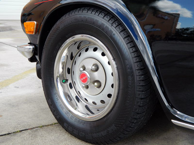 DP Tire Coatnig can be applied to classic cars and daily driver