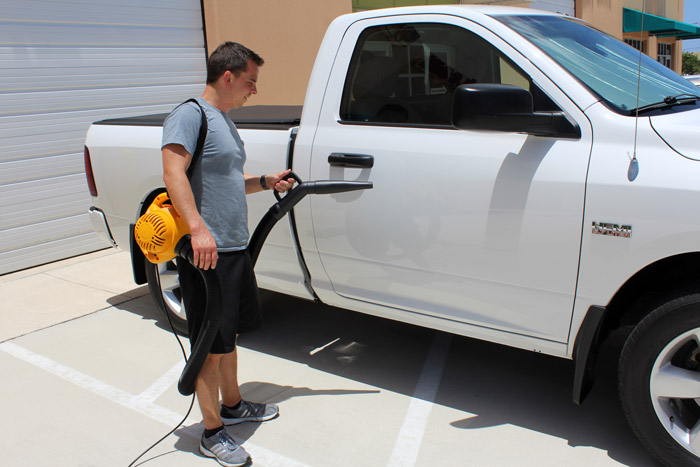 McKee's 37 Turbo Car Dryers makes it fast and easy to dry your entire car!