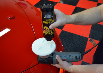 Fast Polish removes defects without hazing paint