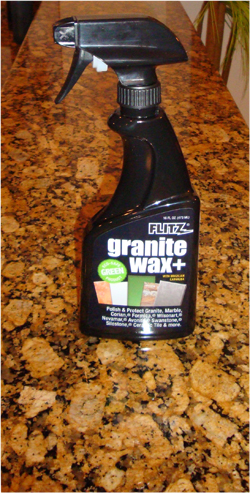 Maintain all granite, marble, Corian, formica, and tile countertops with Flitz.