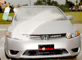 The Foam Cannon HP works with any pressure washer.