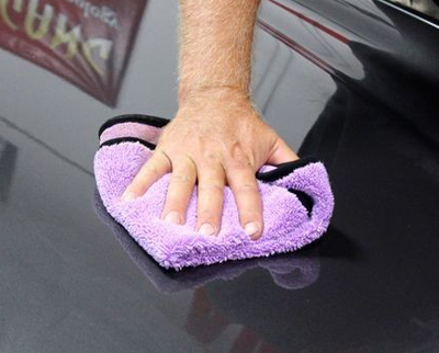 Immediately<br /><br />buff the wax with a second clean, try towel