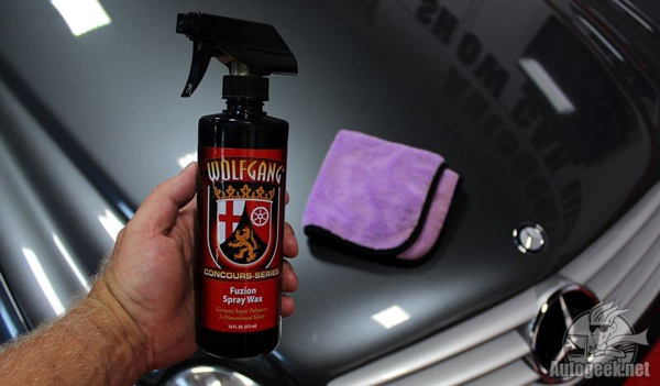 Wolfgang<br /><br />Fuzion Spray Wax is the best spray wax money can buy!