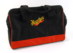 The G110v2 DA polisher includes a large canvas storage bag.