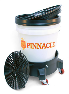 Complete Car Wash Bucket System with Grit Guard