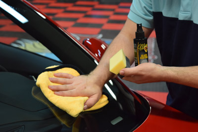 McKee's 37 Glass Coating lasts for over a year!