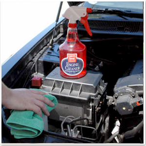 how to use engine degreaser at car wash