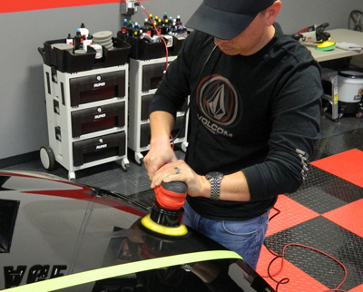 Griots Garage Random Orbital Polishers make it fast and easy to detail your vehicle!