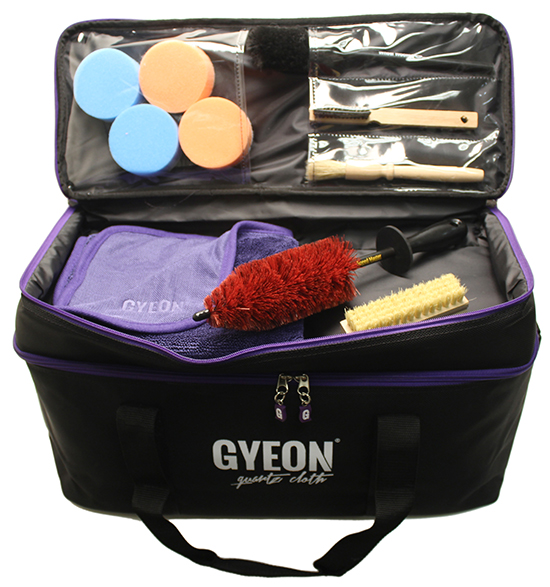 The Large GYEON Detailers Bag has tons of pockets for all of your necessities