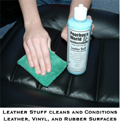 Poorboys Leather Stuff Is Part Cleaner Part Conditioner