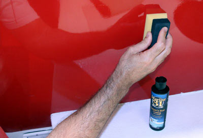 Marine 31 Captains Boat Coating is very easy to apply