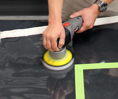 Marine 31 Clear Vinyl Restorer and Protectant is easy to apply, by hand or machine