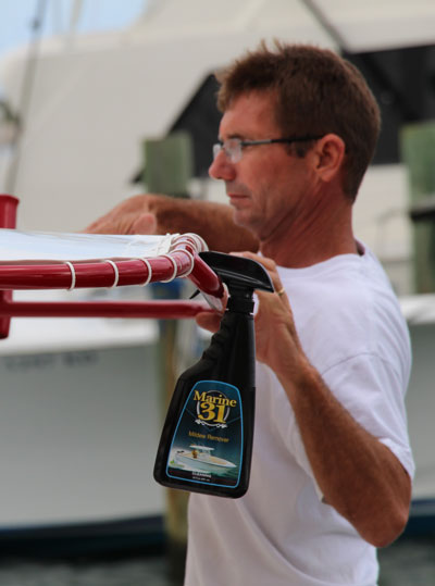 Marine 31 Mildew Remover is the best boat mildew cleaner available!