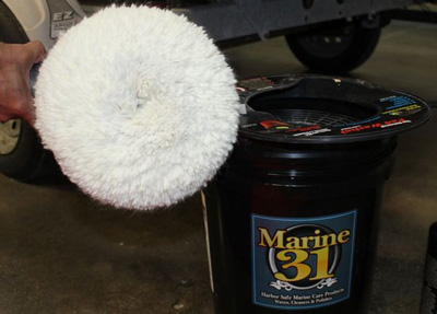 Marine 31 Universal Pad Washer makes your pads look and perform like new!