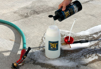Marine 31 Foamaster Foam Gun makes washing your boat quick and easy!