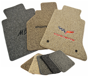 Lloyd TRUBERBER Floor Mats are available in five color schemes to complement any vehicle interior.