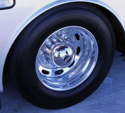 Polishes your RV's wheels to a mirror finish