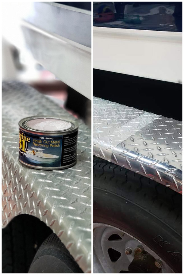 Restore your aluminum and metal flawlessly with Marine 31 Finish Cut Metal Restoring Polish!