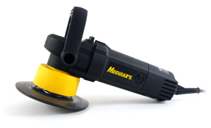 Meguiars G110v2 Dual Action Polisher has a flexible backing plate.