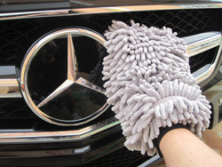 Use the Micro-Chenille Wash Mitt to gently clean all vehicles.