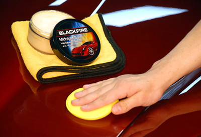 BLACKFIRE Midnight Sun Ivory Carnauba Paste Wax turns heads and creates WHIPLASH!