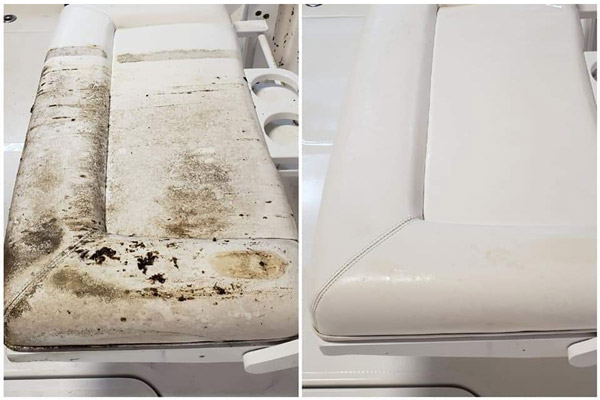 Mildew Remover will melt away the mildew and mold from your boat surfaces, leaving nothing but a clean slate behind!