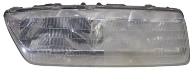 Mothers headlight kit before and after.