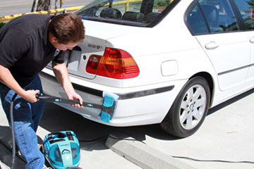 Clean all exterior surfaces with the Mytee Firebird Steamer!