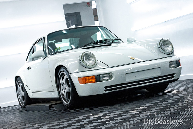 Porsche Carrera after detailing with Dr. Beasley's Nano LS-10 Coating.