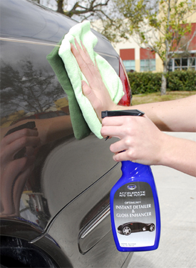 Optimum Instant Detailer & Gloss Enhancer cleans, shines, and protects in one step!